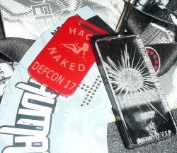 Defcon 17 human badge