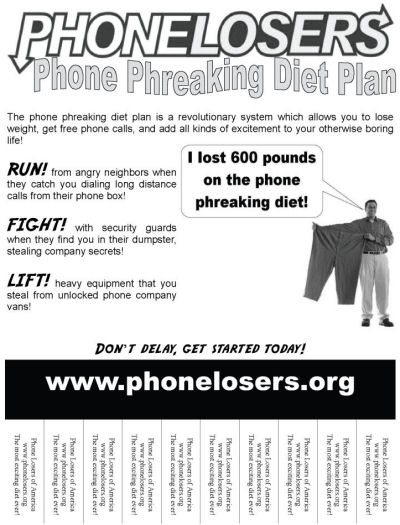 PLA weight loss flyer