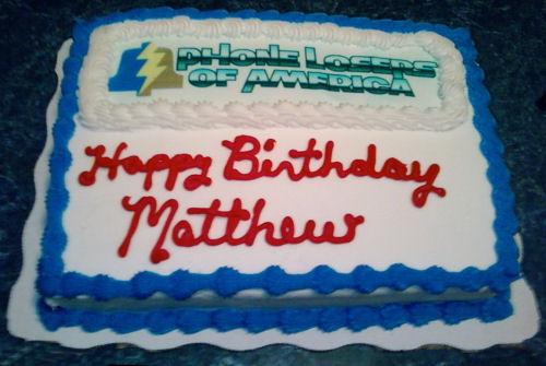 Happy Birthday, Matt!
