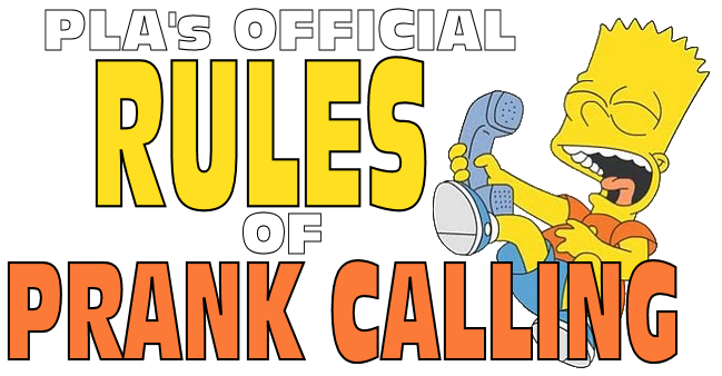 Rules of Prank Calling