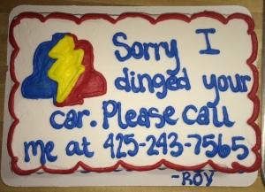 Best cake ever, Jim!