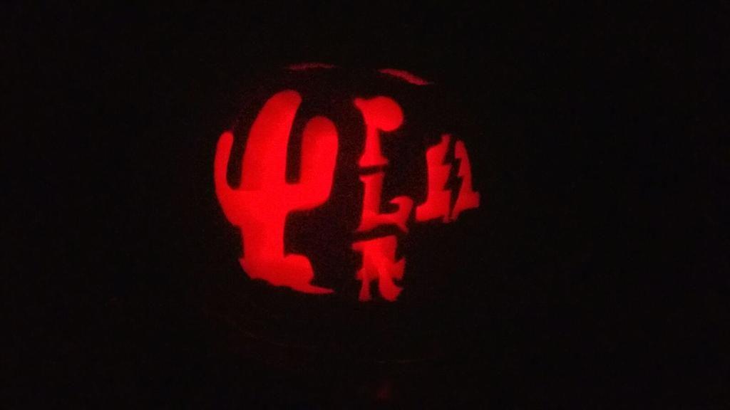 CJ and Tina's PLA pumpkin